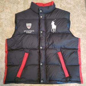 Polo Ralph Lauren Vest Winter Event USA XXL